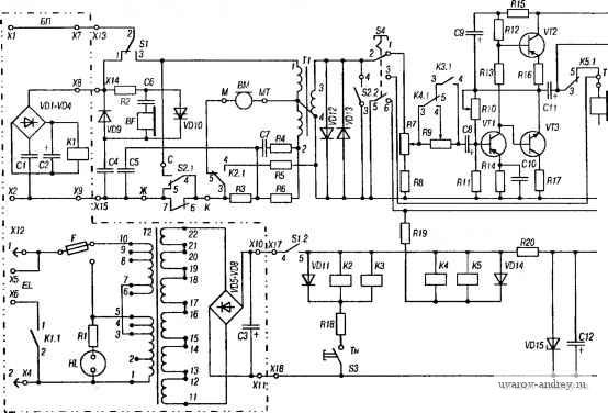 В принципиальной схеме ТА-1146